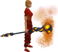Lava battlestaff equipped.png