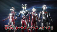 Zero talk about Mebius,Max & Nexus in Ultraman Retsuden