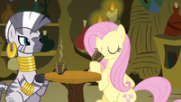 Fluttershy I&#39;m drinking it S3E5