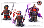 Shinobi Progression