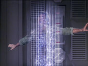 Danar escapes from transporter beam