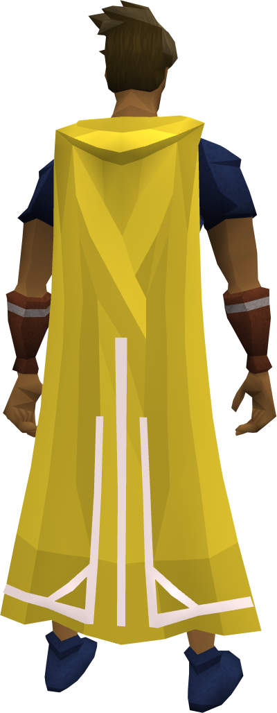 Milestone cape (30) equipped