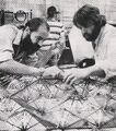 David Beasley and Grant McCune working on the enlarged panel section of Epsilon IX station.jpg