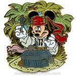 Pirates of the Caribbean - Mickey Mouse as Jack Sparrow