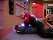 Finn captures Picard