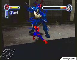 Spiderman 2000 vs Venom