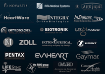 Med device logo montage