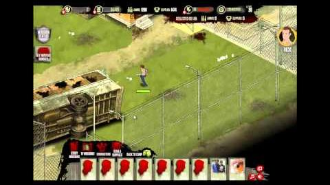 Prison Yard - The Walking Dead Social Game - TV Missions