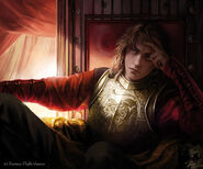 Joffrey Baratheon by Magali Villeneuve, Fantasy Flight Games