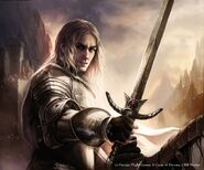 Jaime Lannister by Magali Villeneuve, Fantasy Flight Games©