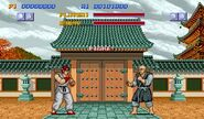 Pantalla Street Fighter I