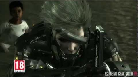Metal Gear Rising Revengeance - Advertising Video for Europe MetalGearSolidTV.com