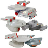 Westland Giftware Star Trek salt and pepper shakers