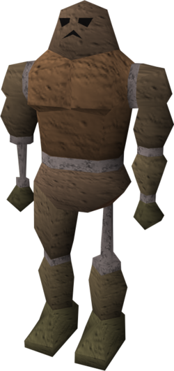 Broken clay golem