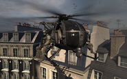 Littlebird in Paris MW3
