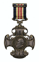 Air gallantry cross, colored