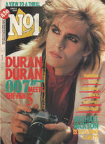 Nick Rhodes of Duran Duran on Magazine Cover 1985 OMD Madonna Michael Jackson wikipedia duran duran