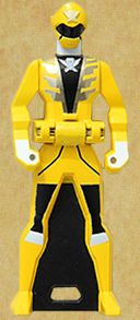 Gokai Yellow Ranger Key
