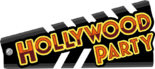 Hollywood Party 2013 Logo Orange
