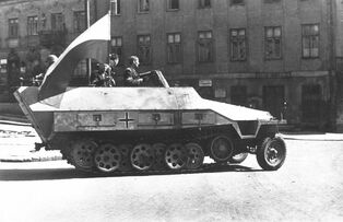 Warsaw Uprising-Captured SdKfz 251