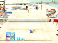 Coconut Beach Sega Tennis