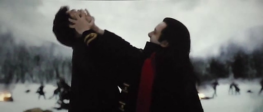 Edward and Aro's fight