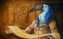 """Древнеегипетский Бог """"Тот"""" вдохновивший меня на создание персонажа Утет="""