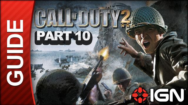 Call of Duty 2 Walkthrough Part 10 - Operation Supercharge - British Campaign