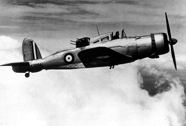 Blackburn B Roc on Sleeve Valve Aircraft Engine