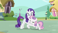 Rarity she said S3E11