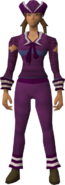 Naval set (purple) equipped