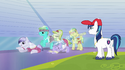 Shining Armor training athletes S3E12