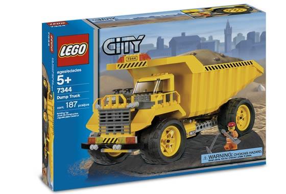 """Конструктор  """"Самосвал """", серия Lego City 7344."""