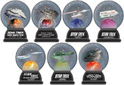 Willabee & Ward Star Trek Snow Globe Collection