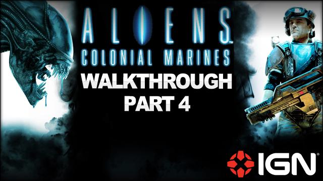 Aliens Colonial Marines Walkthrough - Mission 2 Battle for Sulaco (Continued) (Part 4)