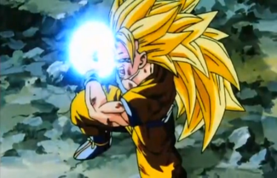 Image - Vegeta's Respect - SS3 Goku Kamehameha.png ...