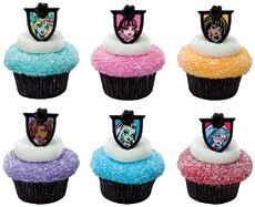 DecoPac - Fear Friends Cupcake Rings stockphoto