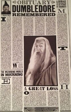 DumbledoreObituary