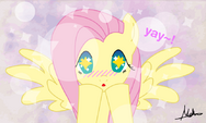 Fluttershy wallpaper by artist-mini-deus