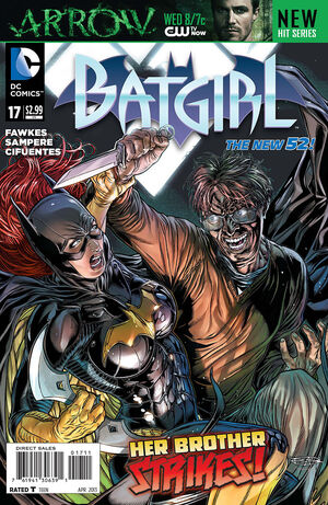 Cover for Batgirl #17