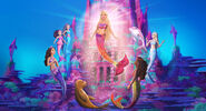 Barbie in A Mermaid Tale 2 Still 3 Merliah Summers Kylie Morgan Renata Selena Snouts Zuma