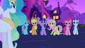 Mane 6 reaction shot S3E13.png