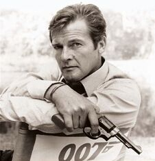 Roger Moore (Cover image from 'My Word is My Bond')