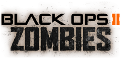 Zombie title screen BOII