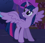 Twilight alicorn cropped S3E13