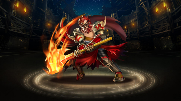 Hephaestus God of Fire - Tower of Saviors Wiki