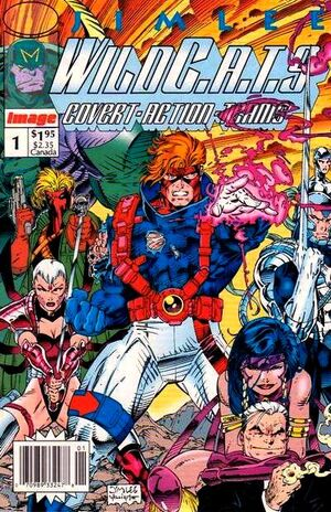 Cover for WildC.A.T.s #1