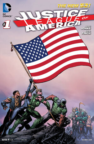 Cover for Justice League of America #1 (2013)