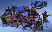 The Cooper Gang in Sly 4