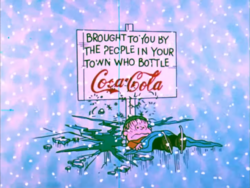 A Charlie Brown Christmas CocaCola